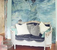 headboard turned french daybed upcycle hometalk