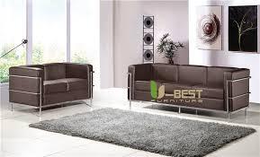 lc2 sofa shop u best le corbusier lc2 sofa set lc2 2 seater 3
