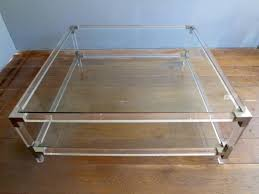 airy look and feel with acrylic coffee table bed u0026 shower