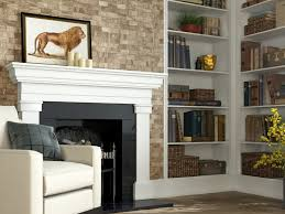 emser tile fireplace using the metro tile fireplaces pinterest
