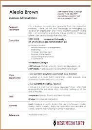 sle resume for ojt business administration students business administration resume sle download business