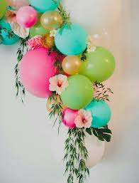 balloons and flowers party decor balloon decorations pinterest