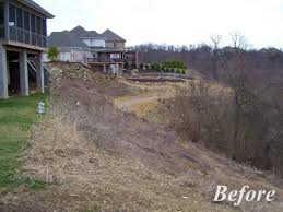 Steep Hill Backyard Ideas Triyae Com U003d Ideas For Backyard With Slope Various Design