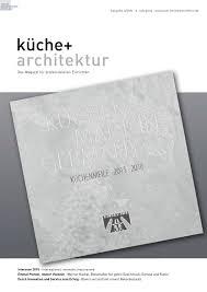 Nobilia K Hen Küche Architektur 1 2016 By Fachschriften Verlag Issuu