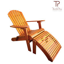 adirondack chair with footrest luxius thinh phu furniture