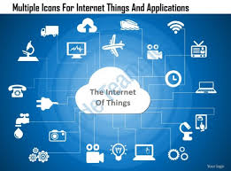 dd multiple icons for internet things and applications powerpoint