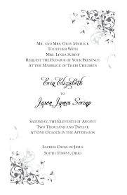 traditional wedding invitation wording luxury traditional catholic wedding invitation wording and