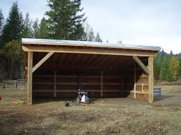 loafing shed out builings pinterest cattle barn and horse