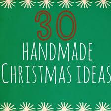 30 handmade christmas ideas and sew we craft