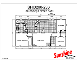 floor plan layout independent shi3260 236 mobile homes