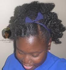 black hair swoop bang natural hairstyle bobby pinned bang and twist out