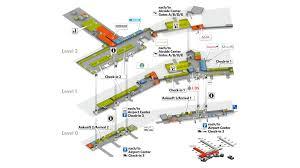 Terminal 5 Floor Plan by Site Plans Flughafen Zürich