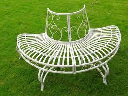 Cream Garden Bench Garden Furniture
