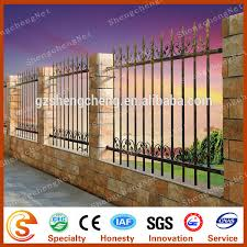 factory wrought iron fence design wrought iron fence ornaments for