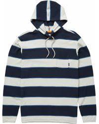 baja sweater lyst hollister baja sweater hoodie in blue for