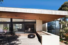 Coastal Home Design Coastal Home In Australia Showcases Rammed Earth And Timber