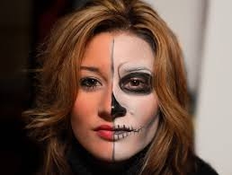 Skeleton Face Paint For Halloween by Face Paint Eddie Murray Flickr