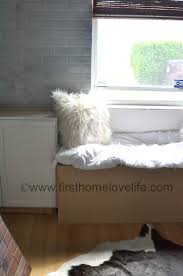 Build A Window Seat - build a window seat first home love life