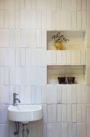 191 best my future bath and kitchen images on pinterest bathroom saw mill tiny house bath loving the irregular subway tile pattern