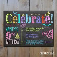 chalkboard invitations afoodaffair me