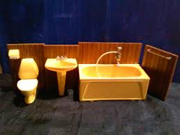 bathroom dollhouse bathroom furniture modern double sink