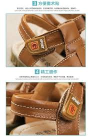 style baby boys beach sandals 2016 new summer genuine leather