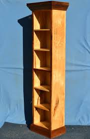 tall bookcase solid maple by damien lumberjocks com