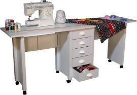Folding Sewing Machine Table Endearing Folding Sewing Machine Table With Double Folding Mobile