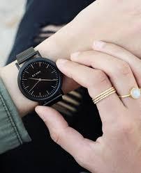 black mesh bracelet images Classic all black klarf jpg
