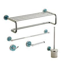 chrome designer bathroom accessories sets