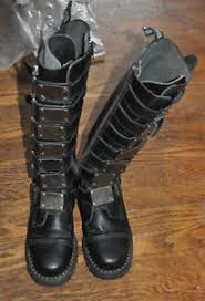 s boots size 9 demonia reaper steel toed s boots motorcycle size 9 ebay