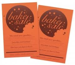 bake sale flyer cookie graphic neenah products