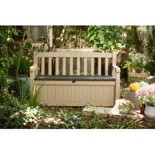 Outside Storage Bench Deck Boxes Patio Storage