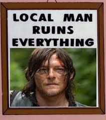 Walking Dead Meme Daryl - what did you do daryl the walking dead the walking dead meme
