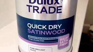 idiot mixing water and oil based dulux satin wood paint disaster