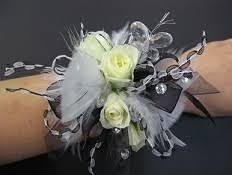 prom wristlets blackwhite jpg