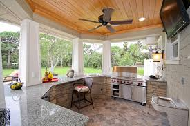 Ceiling Fan For Kitchen Outdoor Kitchen Bar Patio Mediterranean With Brevard County