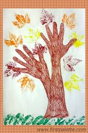 Thankful Tree Craft For Kids - best 25 hand print tree ideas on pinterest valentinstag mutter