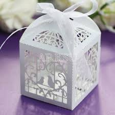 invitations mariage aliexpress buy 100pcs laser cut bird boxes box