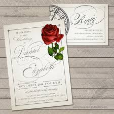 and the beast wedding invitations 100 and the beast wedding invitations tale as as