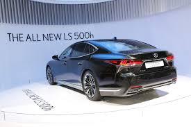 lexus ls 500 f sport the all new 2018 lexus ls 500h gets revealed in geneva autoevolution