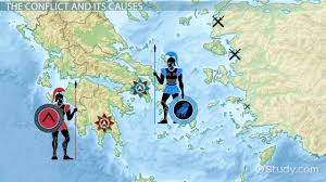 the peloponnesian war history cause u0026 result video u0026 lesson