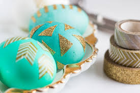 creative easter egg decoration all you need is fucking washi tape