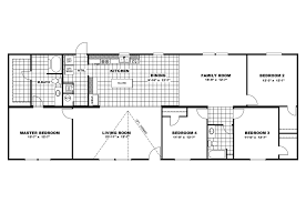 stunning 60 14 70 mobile home floor plan decorating design of