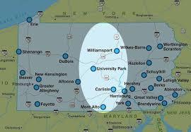 pennsylvania state map maps