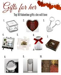 ten inspirational valentine u0027s day gifts for her 2017 memorable