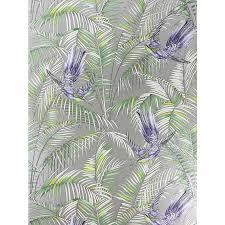 matthew williamson sunbird wallpaper electric blue