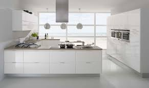 High Gloss White Kitchen Cabinets Shiny White Kitchen Cabinets Morespoons 896292a18d65