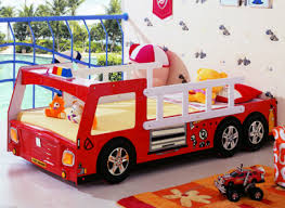 Fire Engine Bed Fire Engine Single Bed Kidniture Dream Bed For Kids