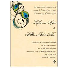 peacock wedding invitations peacock feathers wedding invitations paperstyle